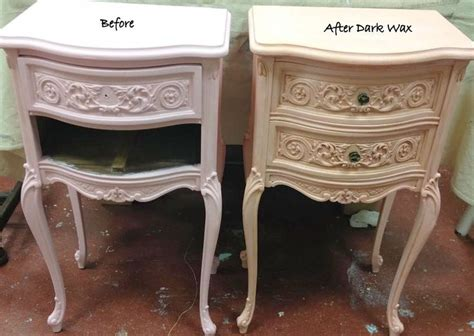 chalk paint distress before or after wax 17 best images about waxed furniture on