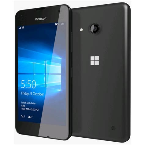 microsoft lumia microsoft lumia 550 smartphone rm 1127 unlocked black