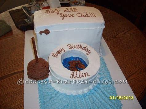 fun adult toilet bowl birthday cake toilets homemade  birthdays