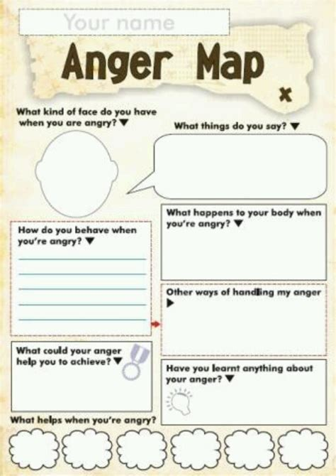 Anger Management Worksheets Pdf by 17 Best Ideas About Anger Management On
