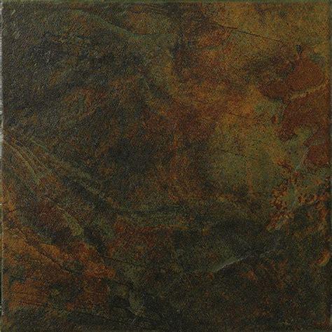 Black Ceramic Floor Tile Marazzi Imperial Slate 12 In X 12 In Black Ceramic Floor And Wall Tile 14 53 Sq Ft