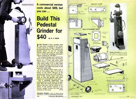 bench grinder stand plans woodwork plans a bench grinder stand pdf plans