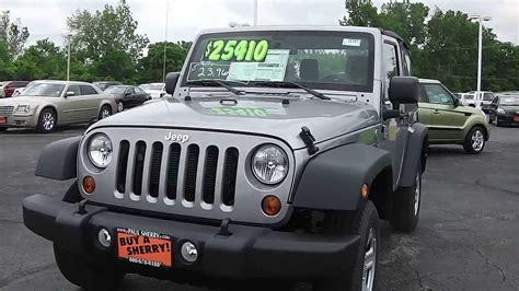 Dayton Jeep 2013 Jeep Wrangler Sport Suv Silver For Sale Dayton Troy