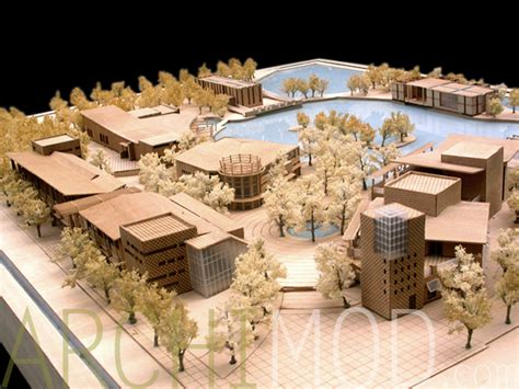 Office Layout Plan archimod hotel and resort models