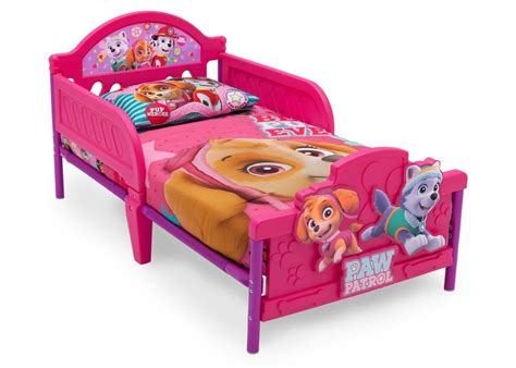 delta childrens bed paw patrol skye everest 3d toddler bed delta