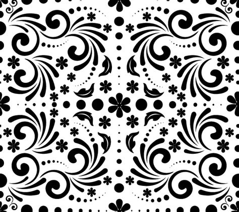 graphic design pattern vector spring pattern vector freebie