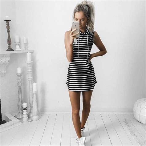 Striped Hoodie Dress best 25 hoodie dress ideas on s dresses