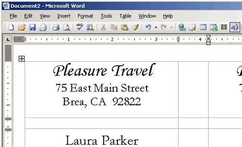 %name Avery Template 5195 For Microsoft Word