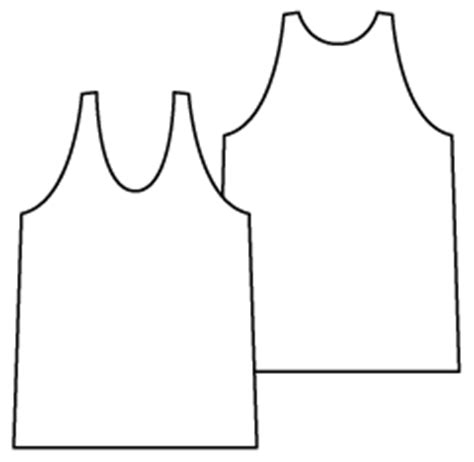 vest top template sewing patterns pdf sewing patterns sewing by