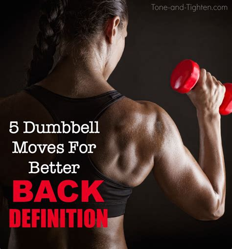 best home exercises for back definition tone and tighten
