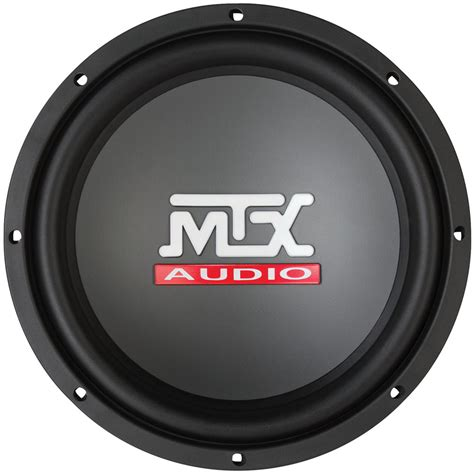 Speaker Subwoofer Acr 10 Inch rts10 04 roadthunder 10 quot 250 watt rms car audio subwoofer mtx audio serious about sound 174
