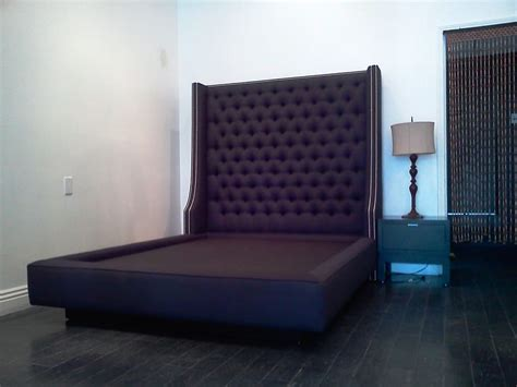 tall headboards for queen beds custom queen bed with extra tall diamond tufted headboard