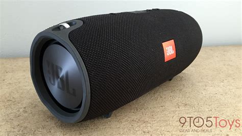 Speaker Jbl Xtreme review jbl s new xtreme bluetooth speaker goes big on sound and design 9to5toys