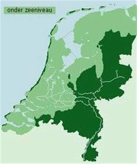 netherlands map below sea level netherlands on the netherlands and