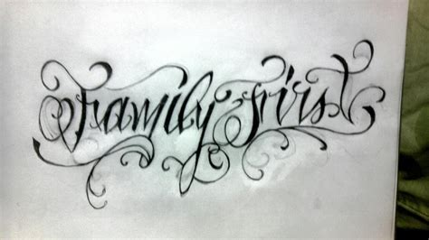 tattoo designs family first family first by spartanburgh on deviantart