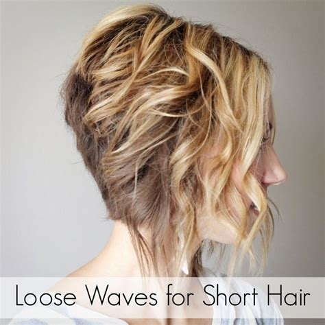curling irons for lose curls how to curl loose waves with a flat iron on short hair