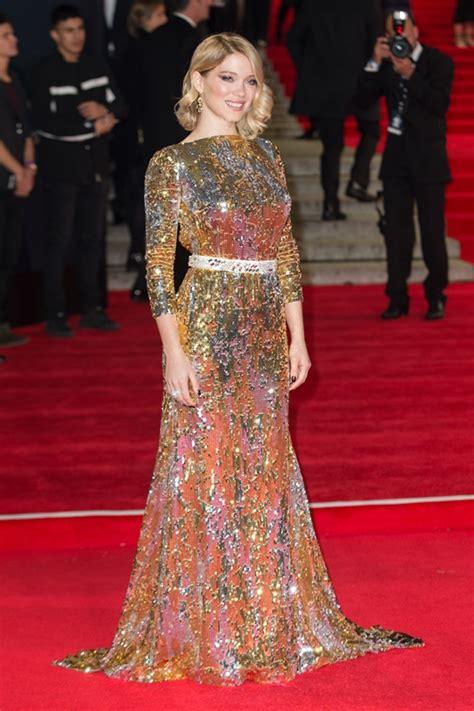 lea seydoux james bond outfits carpets candids lea seydoux s two bond dresses lainey