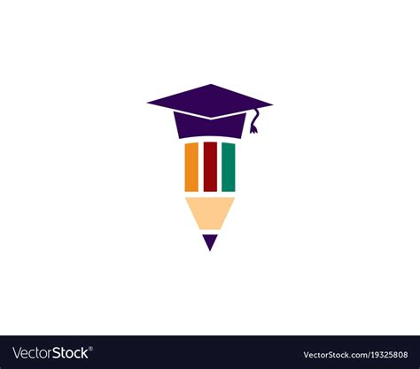 education templates free education logo template royalty free vector image