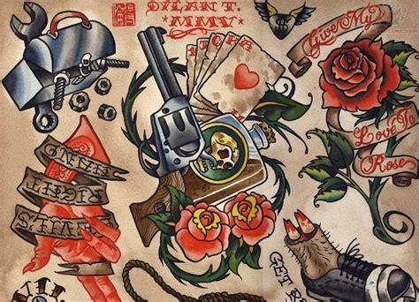 school stingers tattoo designs