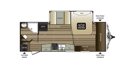 cougar rv floor plans 2017 keystone cougar 24rbs