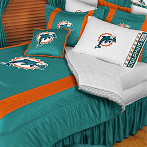 miami dolphins bedding nfl miami dolphins football twin bedding comforter set