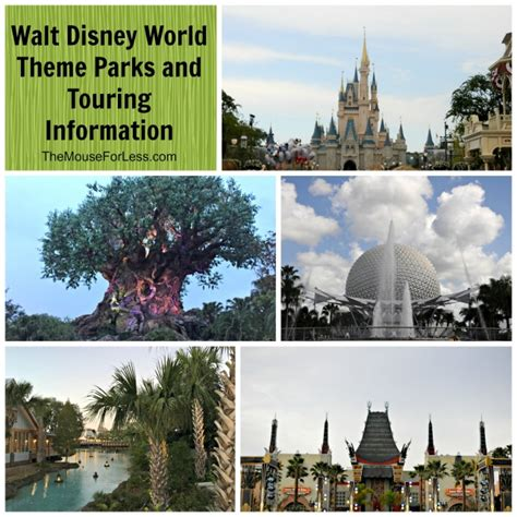 theme park facts walt disney world theme parks and touring information