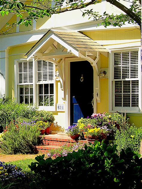 Front Cottage by I Would Like To Visit You In This Yellow Cottage Blue