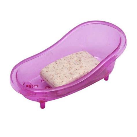 porte savon baignoire porte savon baignoire violet accessoire salle de bain