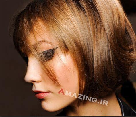 new hair model 2014 مدل مو نیمه کوتاه دخترانه برای موی تیره و روشن مو 2016