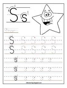 free printable worksheet letter s for your child to learn