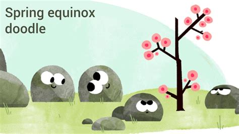 spring equinox google doodle when does the season really vernal equinox 2016 first day of spring youtube