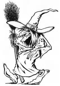 witch face mask coloring pages