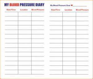 14  printable blood pressure chart   plantemplate.info