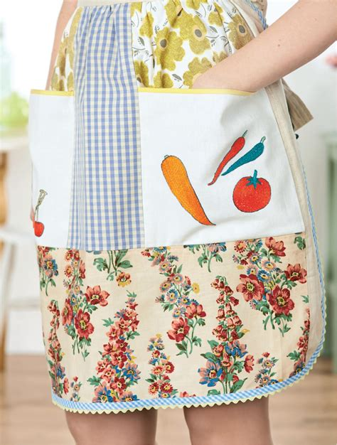 apron pattern uk vintage pinny apron free sewing patterns sew magazine
