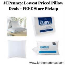 jcpenney lowest priced pillow deals free store