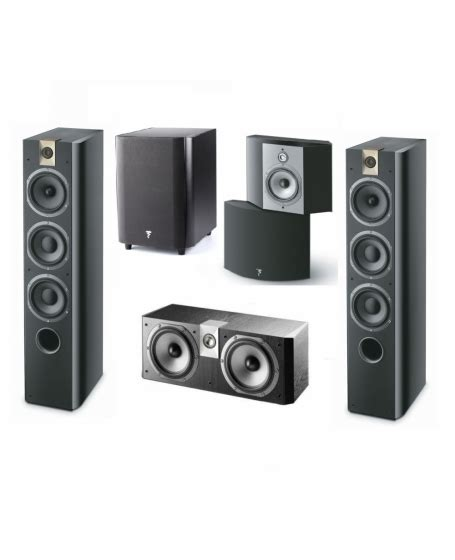 focal chorus 5 1 hometheater system made in
