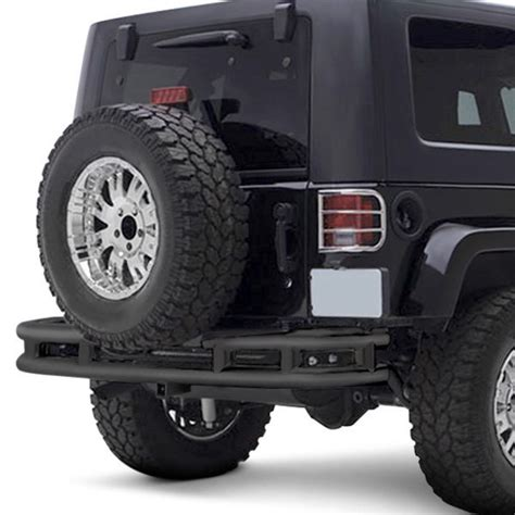 Jeep Rear Bumpers Smittybilt 174 Jeep Wrangler 2007 2018 Width Rear