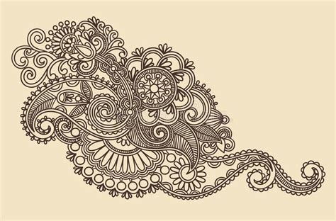 Henna Design Vorlagen Henna Design Element Stock Photos Image 21162343