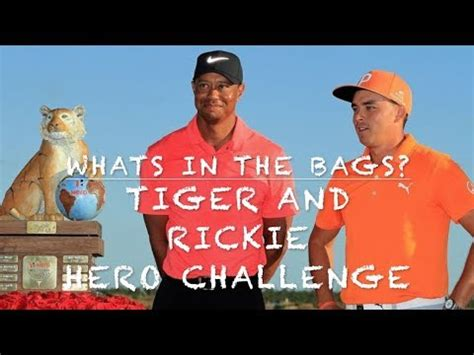 tiger woods rickie fowler whats   bag youtube