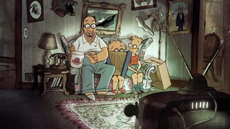 simpsons french couch gag 法國動畫大師sylvain chomet為the simpsons打造特別版片頭 a day magazine
