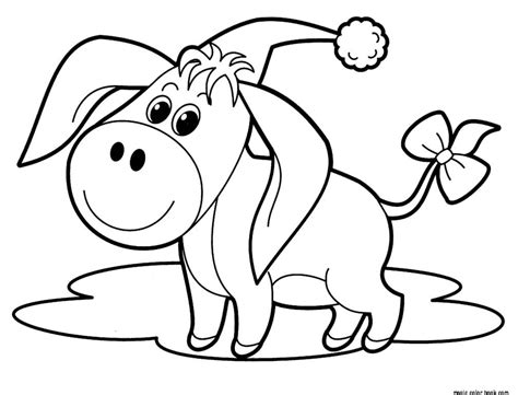 cute christmas animals coloring pages cute animal christmas free coloring pages