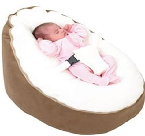soft comfortable baby bean bag seat baby bed two top seat
