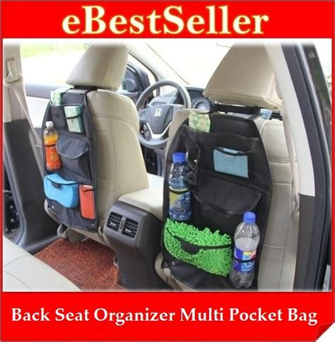 New 2017 Car Seat Organizer Tas Mobil Organizer Multifungsi Blkg Jok multi pockets car back seat organize end 5 24 2018 6 15 pm