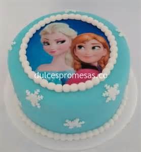 torta frozen ana y elsa
