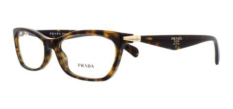 prada pr 15pv 2au 1o1 tortoise womens vpr 15p eyeglasses