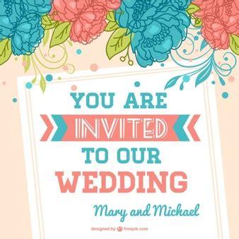 Kostenlose Vorlage Hochzeit Hochzeitseinladung Vorlagen Vektoren Fotos Und Psd Dateien Kostenloser
