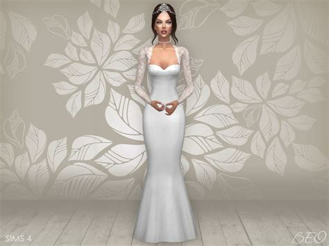 Cyntia Dress Cc cc finds wedding dress cynthia 2 s4 ts4