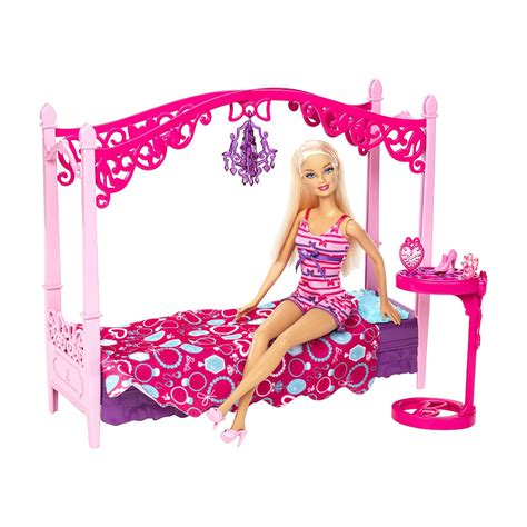 barbie bed set new dolls at toys r us i can be barbie furniture sets