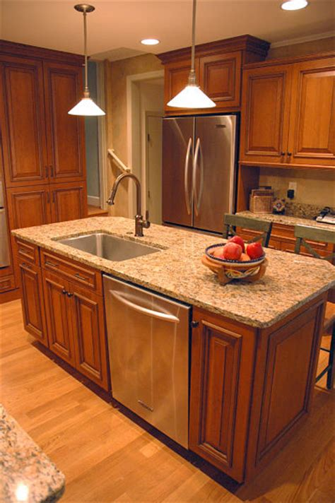 island with sink how to design a kitchen island that works