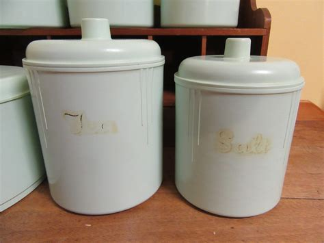 kitchen canisters australia canisters australia set of vintage retro 1960 s australian model maid anodised eon canisters